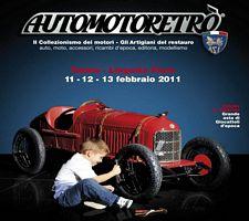 29° edizione Automotoretrò 2011, il salone dell'auto d'epoca