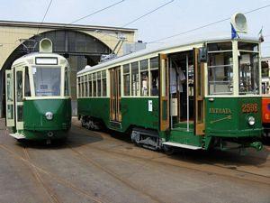 Tram storici di Torino