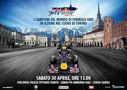 Red Bull F1 ShowRun a Torino il 30 aprile 2011