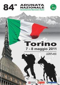 Raduno Alpini e notte bianca a Torino il 7 Maggio 2011