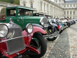 Raduno Auto d'Epoca a Torino