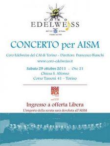 Concerto coro edelweiss del cai di Torino