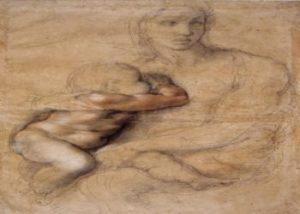 Capolavoro di Michelangelo Madonna col Bambino