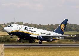 Aereo Ryanair, voli per Torino