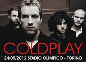 Concerto Coldplay a Torino, Stadio Olimpico 24 Maggio 2012