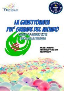 Battaglia di Gavettoni più grande del mondo, il 12 giugno 2012 presso il Parco della Pellerina di Torino