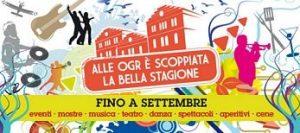Eventi estivi alle Ogr di Torino: spettacoli e concerti 2012
