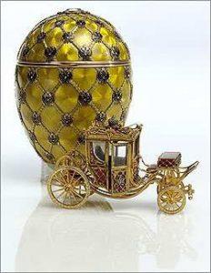 """Mostra 2012 di Fabergé """"Il Gioielliere degli ultimi Zar"""" alla Reggia di Venaria"""