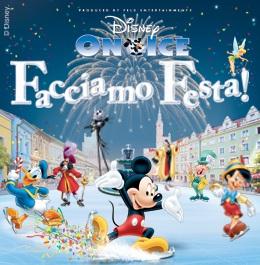 Spettacolo Disney On ice al Palavela di Torino