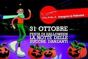 Festa di Halloween 2012 sul ghiaccio al Palavela di Torino