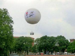 Mongolfiera panoramica di Torino Borgo Dora