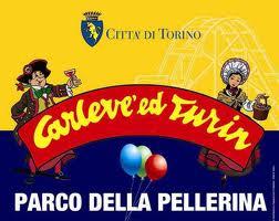 Luna park di carnevale al parco della Pellerina di Torino