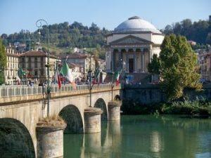 Torino e il fiume Po