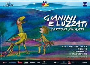 Mostra Gianini e Luzzati, Cartoni Animanti al Museo del Cinema di Torino