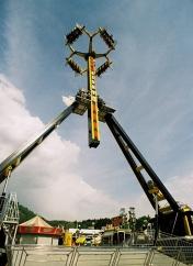 Loop Fighter X Zone Parisi, luna park Pellerina di Torino