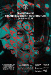 Mostra TRANSFORMERS-ritratti di musicisti rivoluzionari alle OGR di Torino