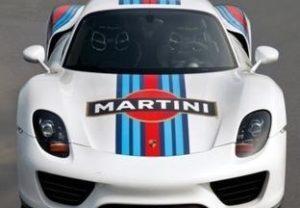 Mostra Martini Racing al Museo dell'Auto di Torino