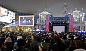 Capodanno in piazza San Carlo a Torino
