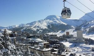 Sestriere, località invernale per sciare in Piemonte