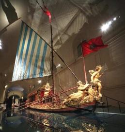 Bucintoro dei Savoia in mostra alla Reggia di Venaria