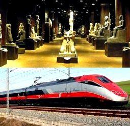 Museo Egizio di Torino e Frecciarossa Trenitalia