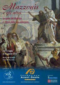 Mostra opere mazzonis alla fondazione accorsi ometto di Torino