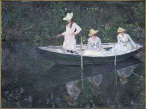 dipinto di Monet in mostra alla Gam di Torino