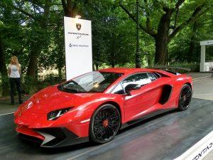 Lamborghini Aventador al Salone dell'Auto di Torino