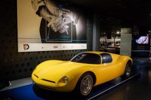 mostra modelli giugiaro al museo dell'auto di torino