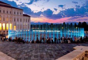 Spettacolo Teatro d'Acqua della Fontana del Cervo alla Reggia di Venaria