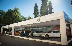 Stand al Parco Valentino per il Salone dell'Auto di Torino