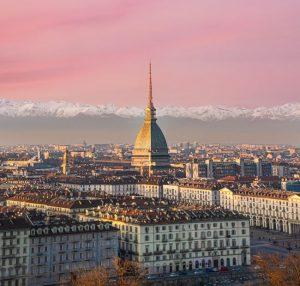 Panorama di Torino dal Monte dei Cappuccini
