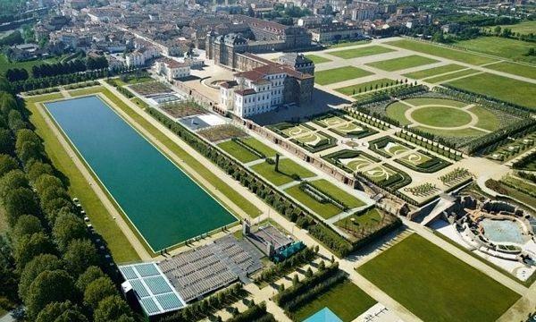 Le Châteaux et les jardins de la Venaria Reale